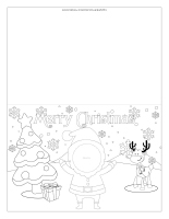 Christmas greeting card-Personalized