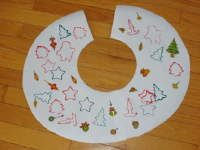 Christmas tree skirt-5