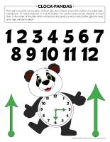 Clock-Pandas
