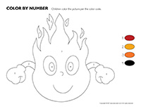 Color by number-Fire