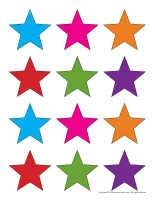 Colorful stars-1