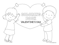 Coloring book-Valentine's Day