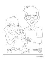 Coloring pages-Father's Day 2020