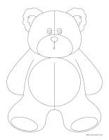 Coloring-pages-theme-Bears