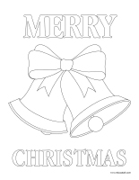 Coloring pages theme-Christmas 2020