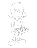 Coloring pages-theme-Composting