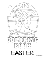 Coloring pages theme-Easter-1