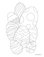 Coloring pages theme-Easter-2
