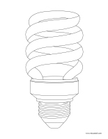 Coloring pages theme-Electricity
