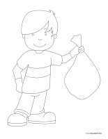 Coloring pages theme-Environment