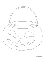 Coloring pages theme-Pumpkins