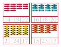 Counting cards-Cars