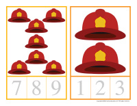 Counting cards-Firefighters-1