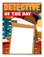 Detective of the day