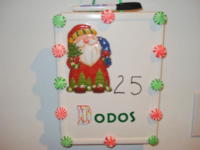 Dry-erase Advent calendar-1