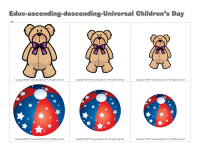 Educ-ascending descending-Universal Children's Day