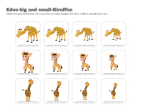 Educ-big and small-Giraffes