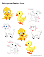Educ-pairs-Easter farm