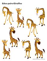 Educ-pairs-Giraffes