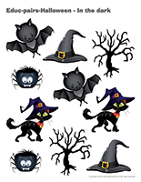 Educ-pairs-Halloween-In the dark