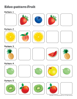 Educ-pattern-Fruit