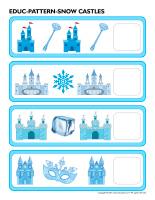 Educ-pattern-Snow castles