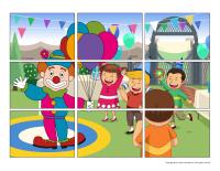 Educ-puzzle-Clowns