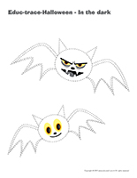 Educ-trace-Halloween-In the dark