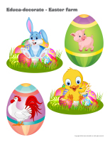Educa-decorate-Easter farm