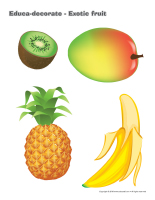 Educa-decorate-Exotic fruit-2