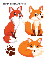Educa-decorate-Foxes