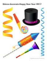 Educa-decorate-Happy New year 2017-1