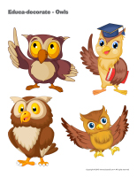 Educa-decorate-Owls