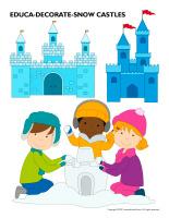 Educa-decorate-Snow castles-1