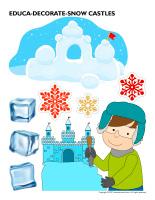 Educa-decorate-Snow castles-2