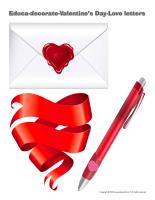 Educa-decorate-Valentine's Day-Love-letters-1