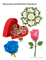 Educa-decorate-Valentine's Day Roses-1