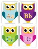 Educa-letters-Owls