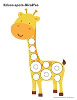Educa-spots-Giraffes