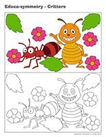 Educa-symmetry-Critters