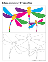 Educa-symmetry-Dragonflies