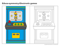 Educa-symmetry-Electronic games