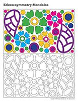 Educa-symmetry-Mandalas
