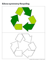 Educa-symmetry-Recycling