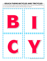 Educa-theme-Bicycles and tricycles