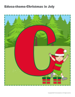 Educa-theme-Christmas in July