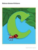 Educa-theme-Critters