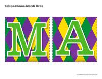 Educa-theme-Mardi Gras