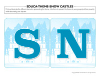 Educa-theme-Snow castles