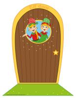 Elf-door